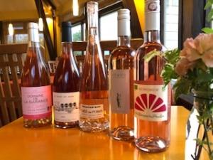 春のワインといえば。